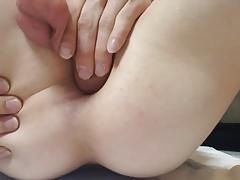 Young Horny Boy Self Fuck