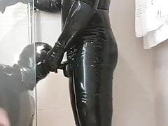 rubber piss