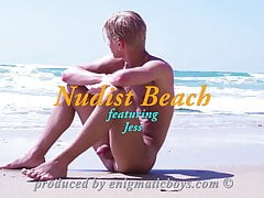 Enigmaticboys featuring Jess! Nudist Beach!