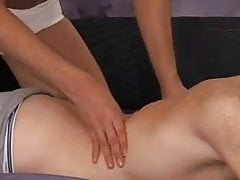Freckled twink massage
