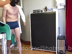 Young Twink Shaved By The Doctor