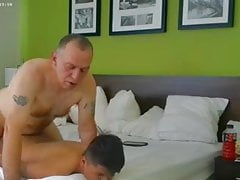 trucker daddy fucks his twink bf