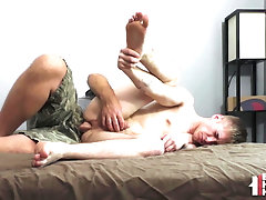 Blond Delinquent Teen Gaped Bareback By Older Man In POV