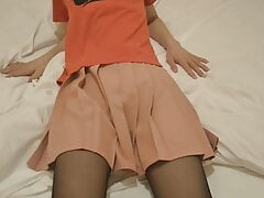 middle-aged asian's crossdressing movie 18