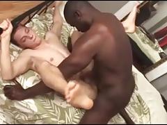 Str8 Musclar Boy Fucking First Twink's Asshole