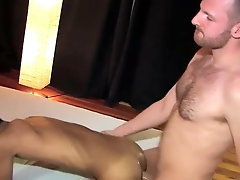 Big Dick White Barebacks A Cute Latino twink on the couch